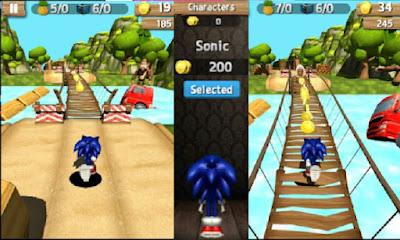 تنزيل اخر تحديث من لعبه Super Sonic Jungle Adventure Run ملف Apk