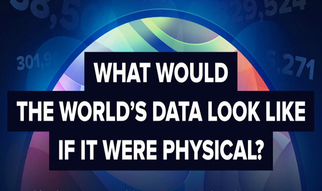 What Would The World's Data Look Like if it Were Physical?