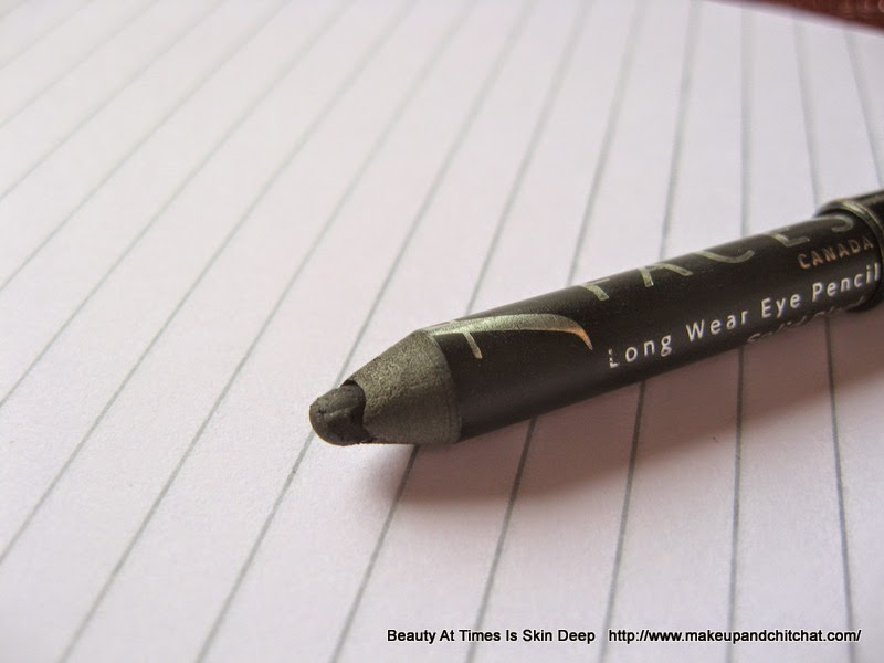 review and price of Faces Cosmetics Longstay Eye Pencil in Solid Black