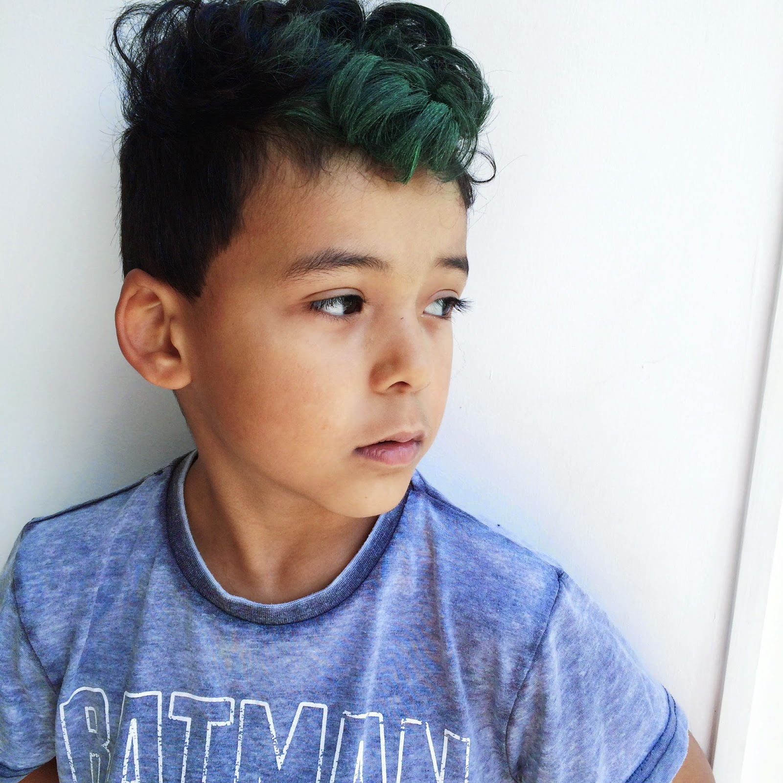 Hair Chalk Green Hair Little Likely Lads