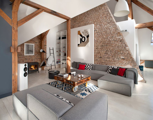 Дизайнерские проекты. Лофт квартира в польском городе Познань