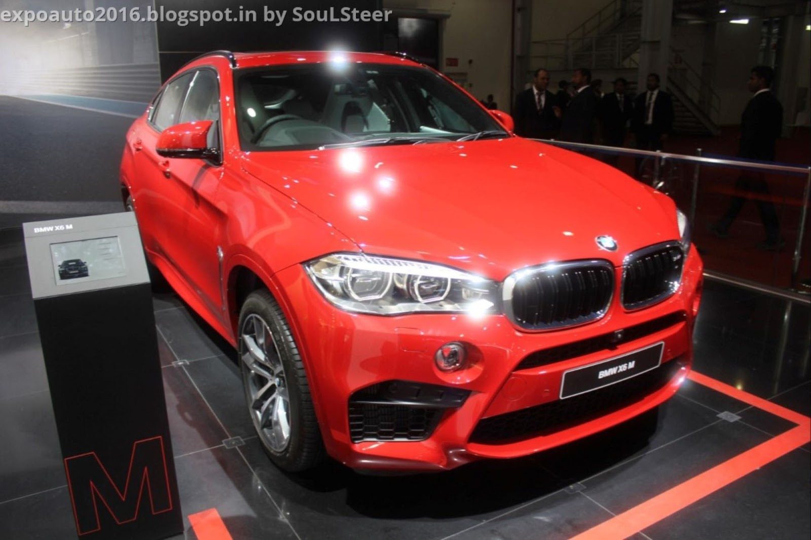 Auto Expo 2016 By Soulsteer Bmw X6 M 2979cc M Twinpower