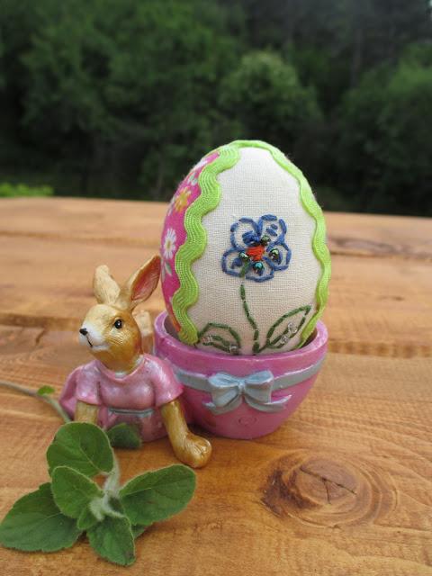 пасхальный декор зайцы