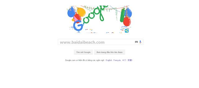 Khi nào là sinh nhật Google?