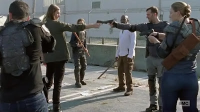 The Walking Dead: Jared Vs Richard