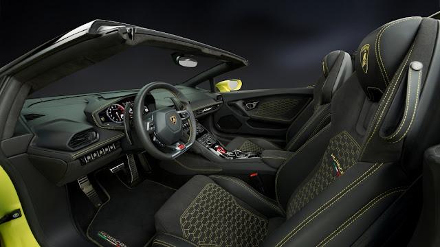 Lamborghini Huracán LP 580-2 Spyder 2017 - Interior