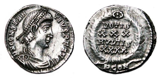 a nombre de Constancio II