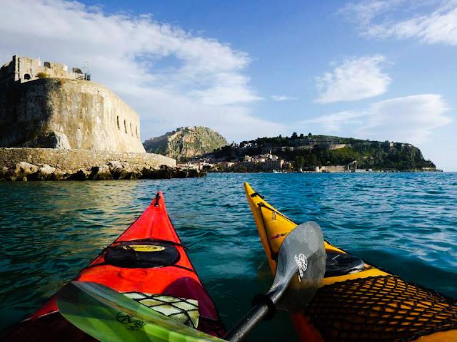 Νέα πρόταση για θαλάσσια βόλτα στο Ναύπλιο: Sea Kayak 12 μήνες το χρόνο