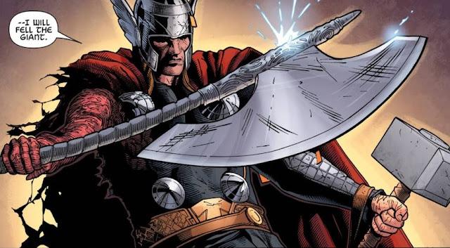 Top 5 Senjata Thor selain Mjolnir
