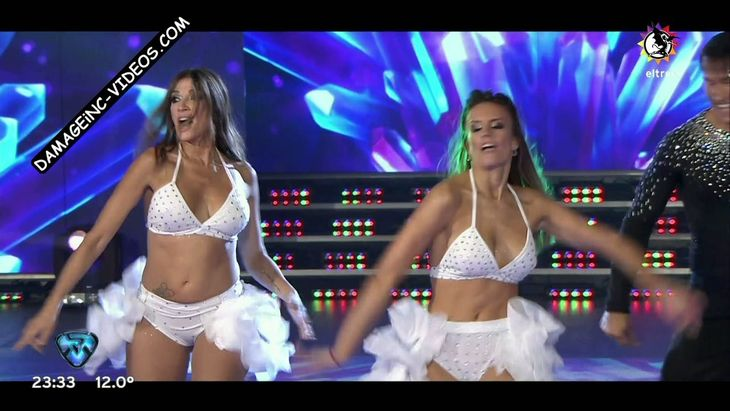 Catherine Fulop and Melina Lezcano sexy dance Damageinc Videos HD