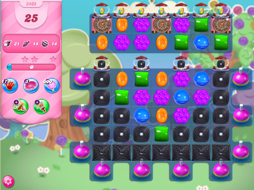 Candy Crush Saga level 3408