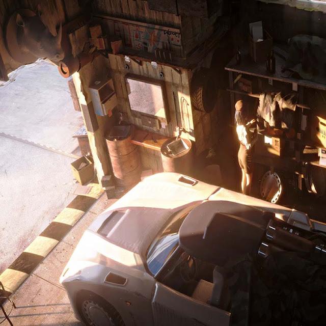 In The Garage Wallpaper Engine