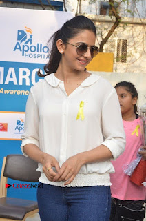 Actress Rakul Preet Singh at Endometriosis Awareness Walk at Apollo Cradle  0033.jpg