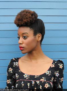 Natural hair Updos Hairstyles
