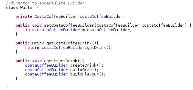 Java-Latte: Builder Design Pattern in Java