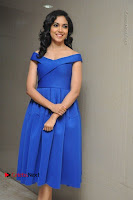 Actress Ritu Varma Pos in Blue Short Dress at Keshava Telugu Movie Audio Launch .COM 0072.jpg