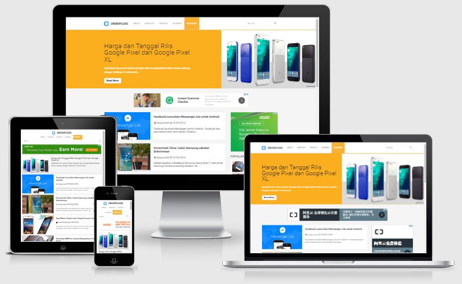 Dunia blogger mengalami perkembangan yang begitu pesat Template Kompi Design Google AMP Responsive