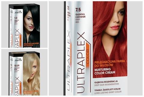 Na sklepowe półki właśnie trafiła nowa lina pielęgnacyjnych farb do włosów Ultraplex, Laboratorium Kosmetyczne Joanna