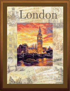 "Riolis РТ 0019 ""Лондон"""