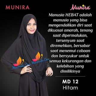 Jilbab Munira MD 12 Koleksi hijab syar'i terbaru dewasa