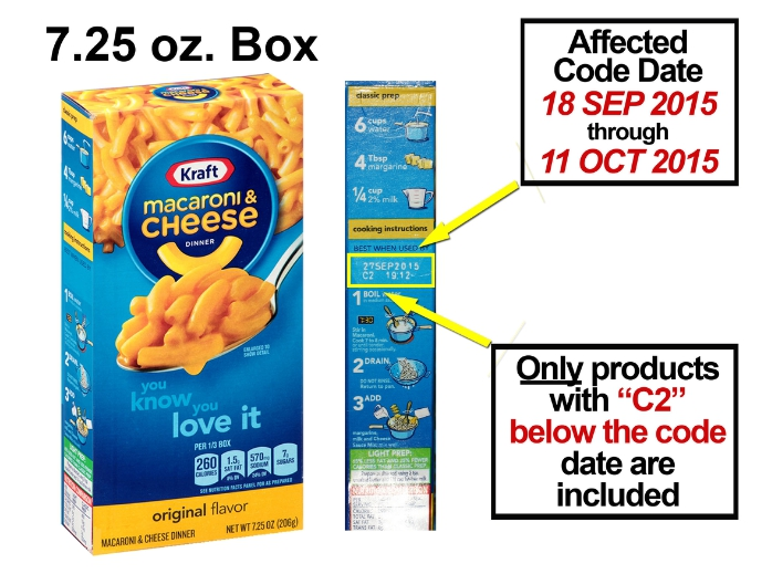 Oh No, Not the Mac and Cheese! -- 242,000 Cases of Kraft Mac & Cheese Recalled