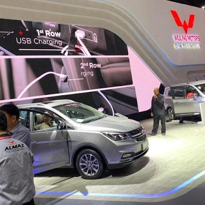 Wuling Motors di IIMS 2019