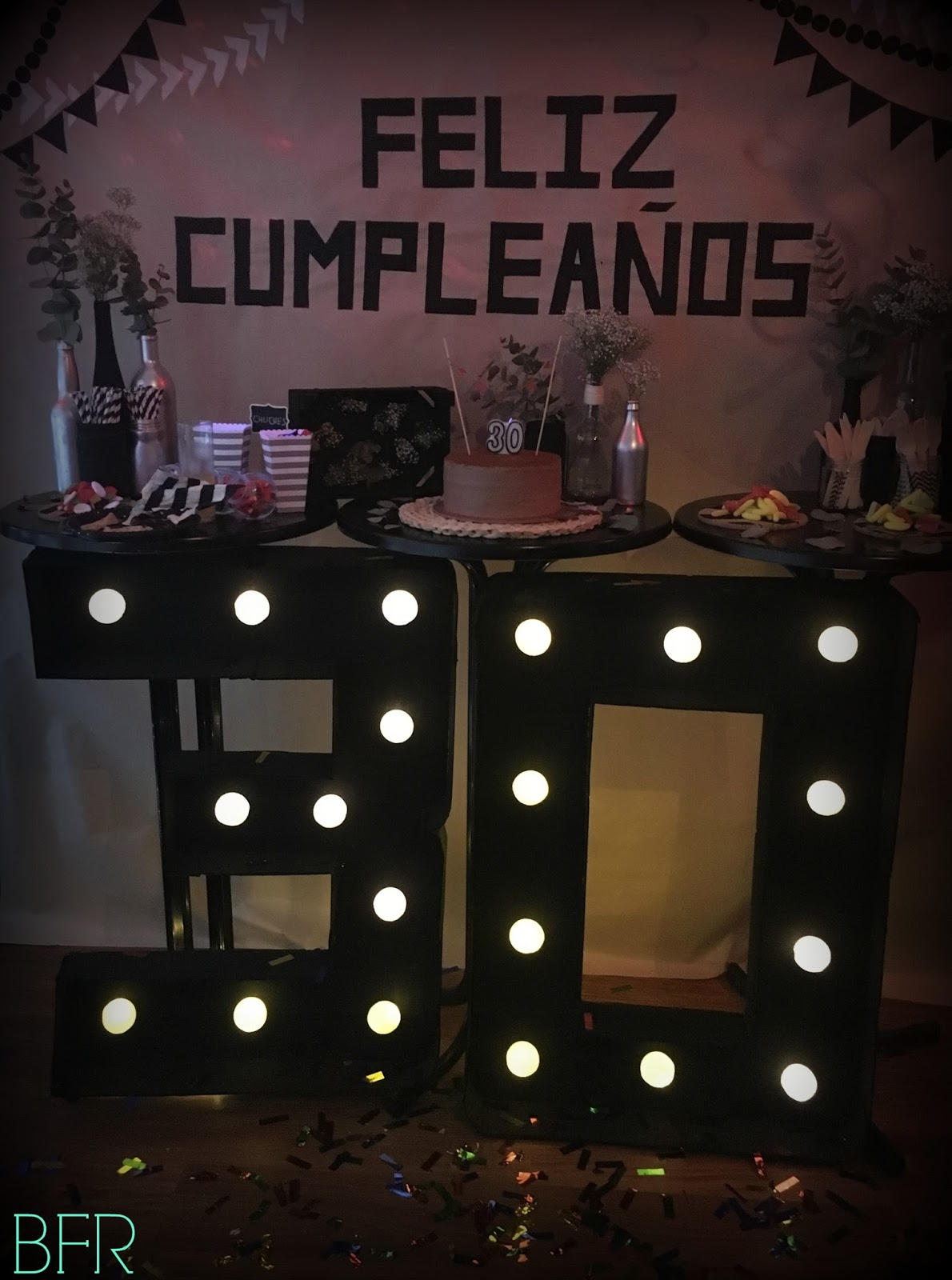 Charada c mo decorar una fiesta de cumplea os sorpresa for Ideas decoracion vintage
