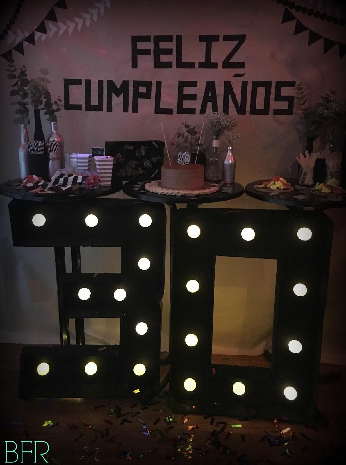 Charada c mo decorar una fiesta de cumplea os sorpresa para 30 a os - Ideas para celebrar un 50 cumpleanos ...