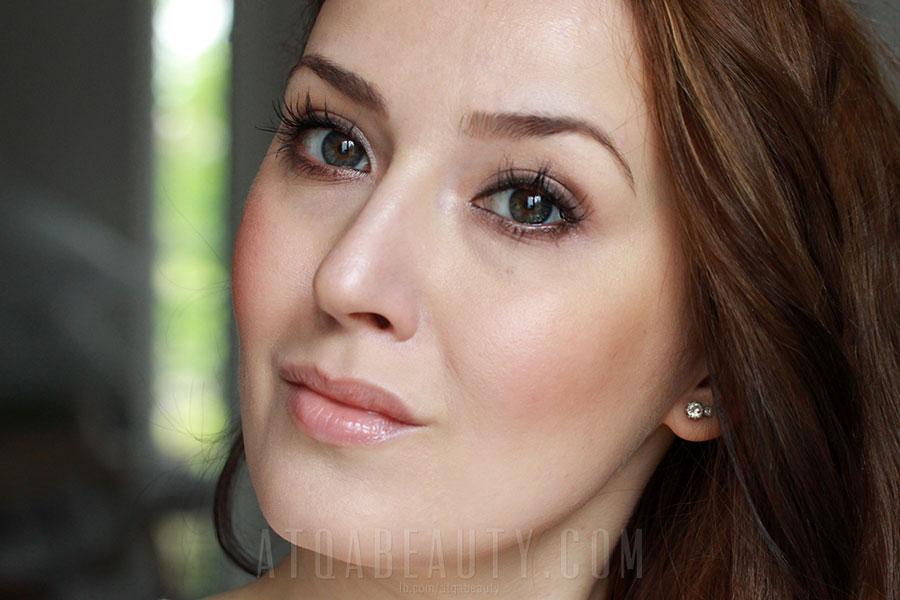 Mineralnie z Lily Lolo • makijaż dzienny • Atqa Beauty Blog