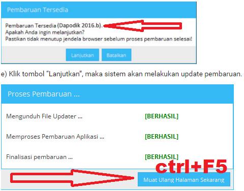 gambar cara update Cara Update Dapodik Versi Baru 2016b
