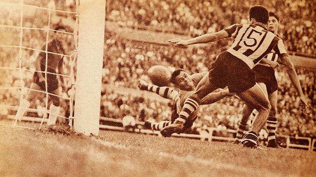 Chile y Paraguay en Campeonato Sudamericano de 1955