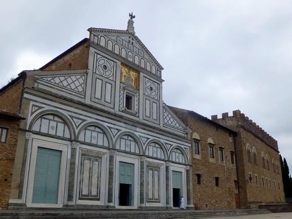 florence toscane église miniato al monte