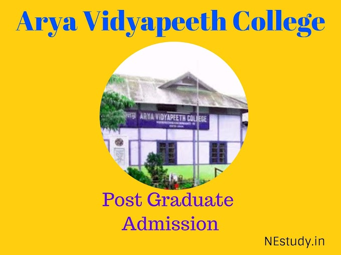 Admission to Arya Vidyapeeth College for M.Sc in Mathematics & Chemistry