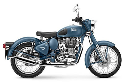 Royal Enfield Classic 500 Squadron Blue Indian Air Force Edition Launched