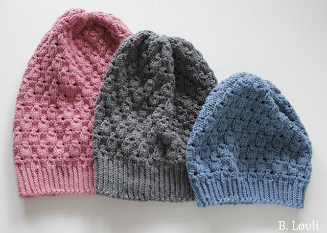 strikkeoppskrift lue