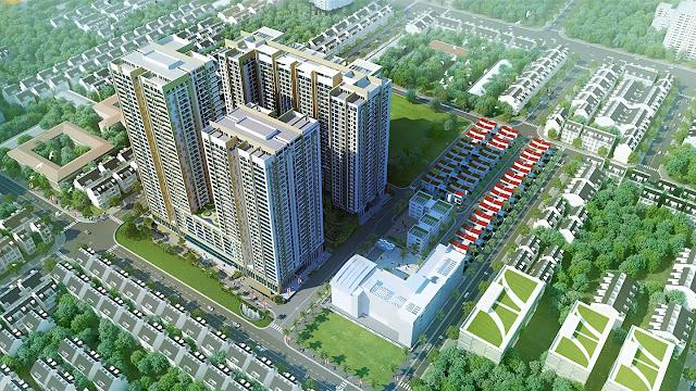 Phối cảnh dự án Imperia Sky Garden Minh Khai