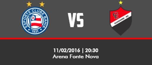 Bahia recebe Flamengo de Guanambi