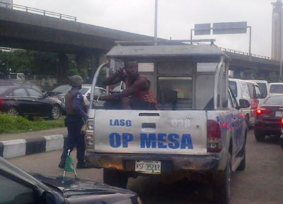 traffic robber arrested lagos