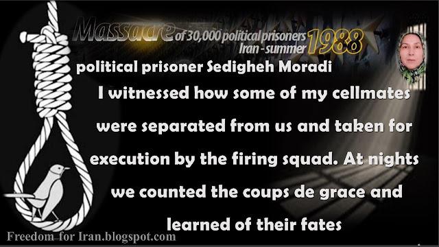Political prisoner Sedigheh Moradi