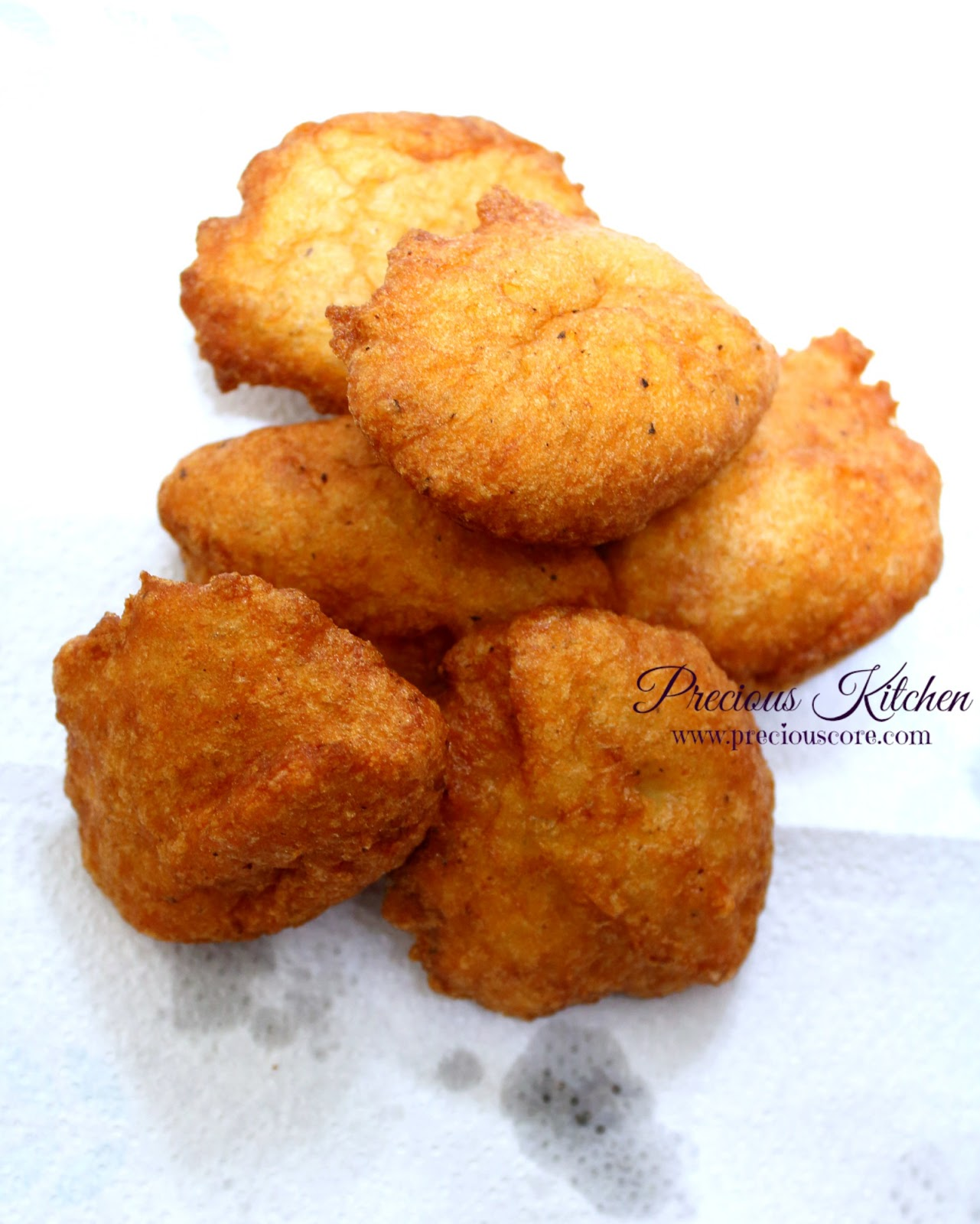 Accra Beans-Akara-Black Eyed Peas Fritters