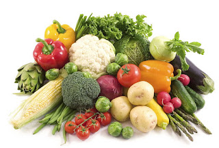 healthy nutrition in vegetables