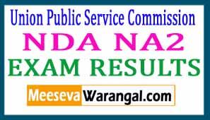 UPSC NDA NA2 EXAM RESULTS 2017