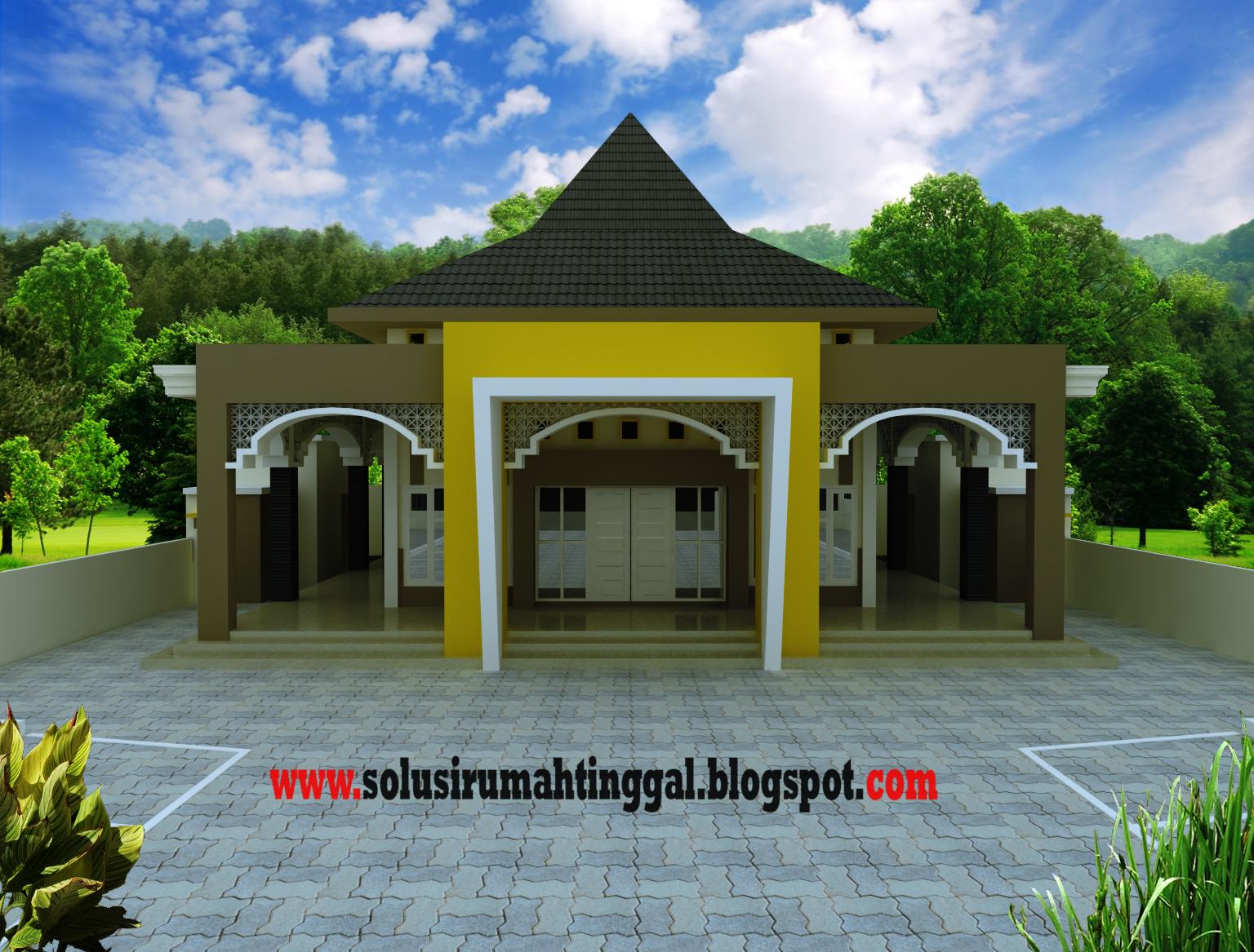 Desain Teras Mushola
