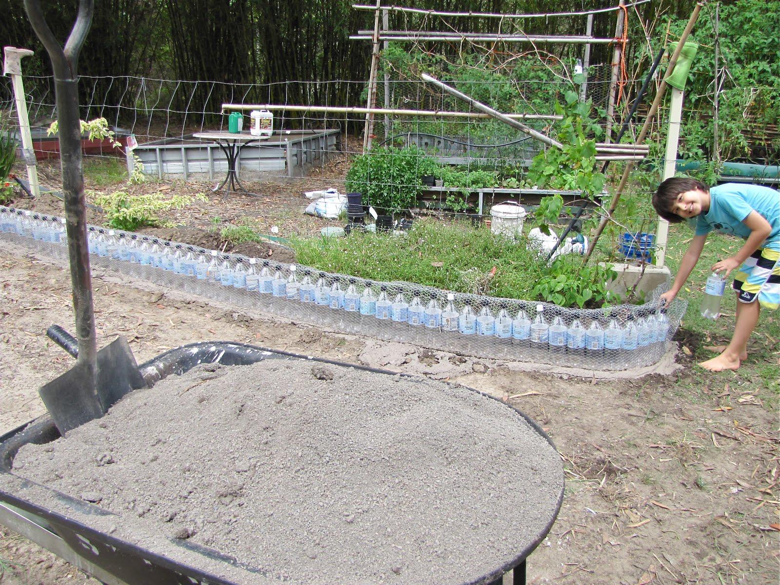 Recycled Plastic Bottle Garden Edge
