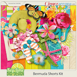 Bermuda Shorts from Key Lime Digi Designs