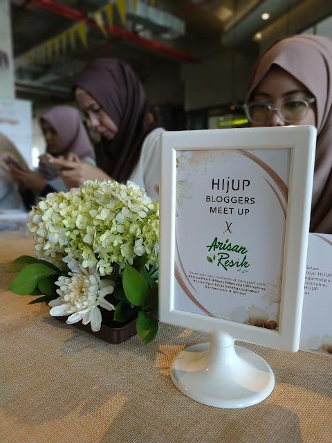 Hijup bloggers Meet Up, Istri Resik Keluarga Harmonis