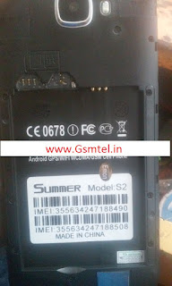 Summer S2 MT6580 5.1 firmware flash file 10000% tested