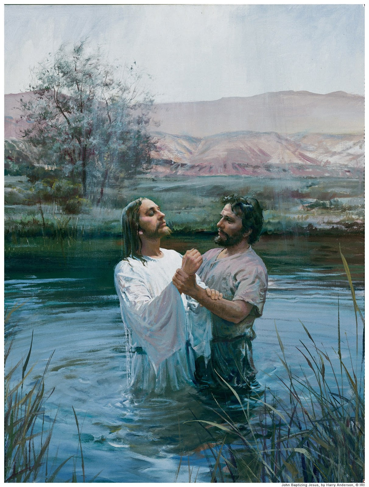 This Girl Loves To Talk Fhe Lesson Jesus John And Baptism