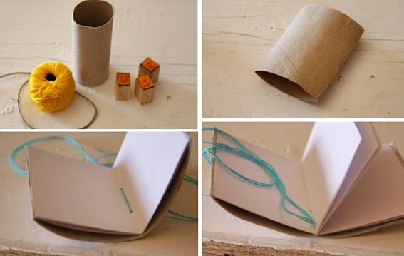 Como Hacer La Libreta De Dibujo De Marinetteprodigiosa: Ecometamorfosi: 17.Libretas Con Tubos De Cartón