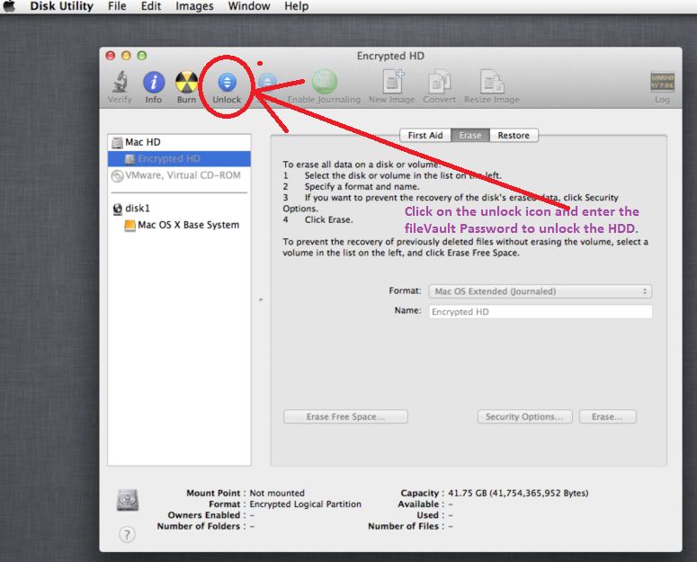 How to reset admin password on Mac OS X
